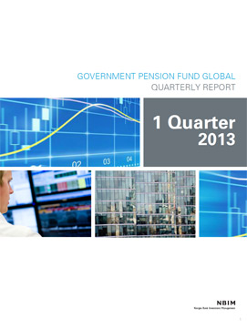 1Q 2013 Quarterly report
