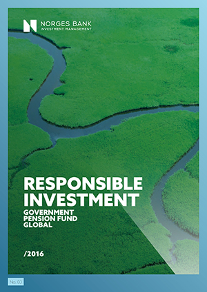 Responsible investment 2016