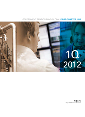 1Q 2012 Quarterly report