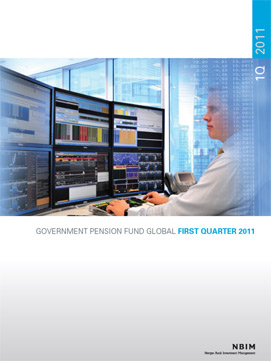 1Q 2011 Quarterly report