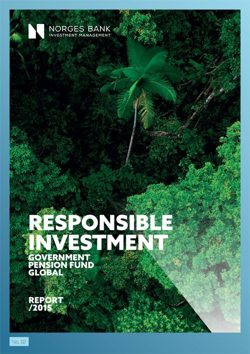 Responsible investment 2015