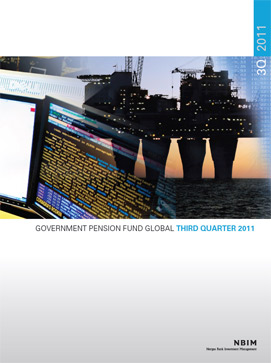 3Q 2011 Quarterly report