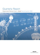 2Q 2008 Quarterly report