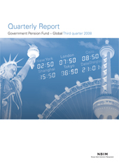 3Q 2008 Quarterly report
