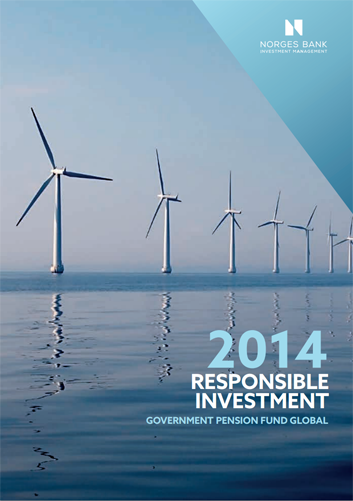 More on the Responsible Investment Report